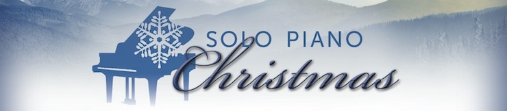 Solo Piano Christmas Logo