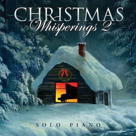 Christmas Whisperings 2 solo piano CD cover